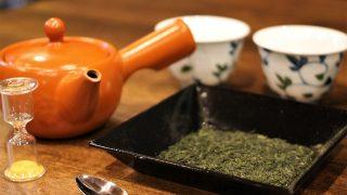 日本茶インストラクターとおいしいお茶の淹れ方体験