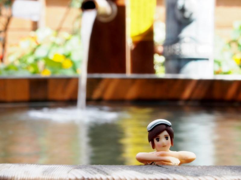 戸倉上山田温泉中央ホテル貸切露天風呂