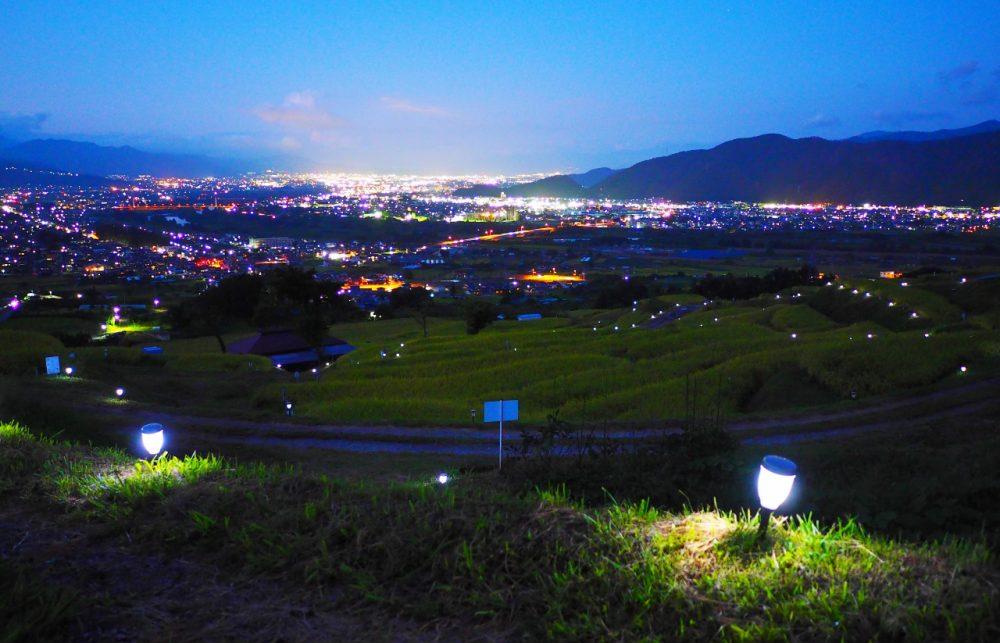 【秋の観光案内】信州さらしな・おばすて観月祭