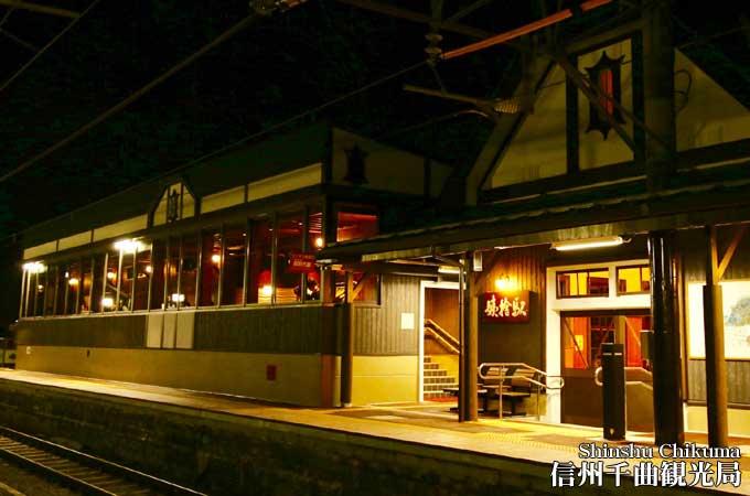 TRAIN SUITE 四季島 姨捨駅にやってきた