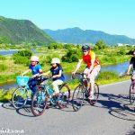 サイクリングと街歩きツアー