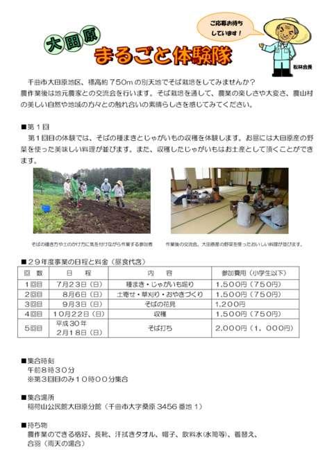 農業体験のサムネイル