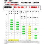 「戸倉上山田温泉夏祭り」交通規制のお知らせ