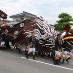 平成最後の暑い夏。 稲荷山祇園祭開催(7/14-15)