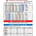 第35回 信州さらしな・おばすて観月祭 9/24シャトルバス時刻表