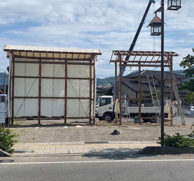 四神・剣竜 の安置所も現在建設中